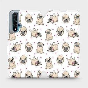 Flipové pouzdro Mobiwear na mobil Huawei Nova 5T - M097P Mopsíci