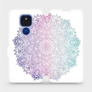 Flipové pouzdro Mobiwear na mobil Motorola Moto E7 Plus - M008S Mandala