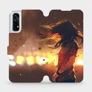 Flipové pouzdro Mobiwear na mobil Realme 7 - MA02S Tetovaná dívka