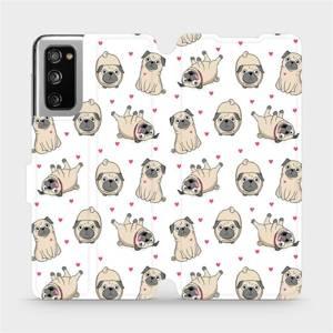 Flipové pouzdro Mobiwear na mobil Samsung Galaxy S20 FE - M097P Mopsíci