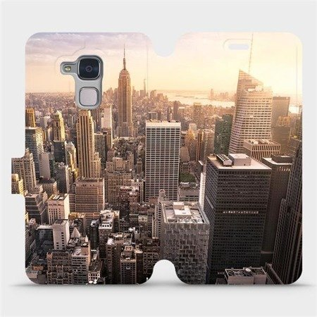 Flipové pouzdro Mobiwear na mobil Honor 7 Lite - M138P New York