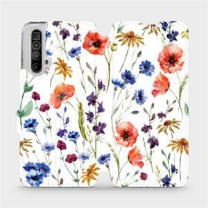 Flip pouzdro Mobiwear na mobil Realme X3 SuperZoom - MP04S Luční kvítí
