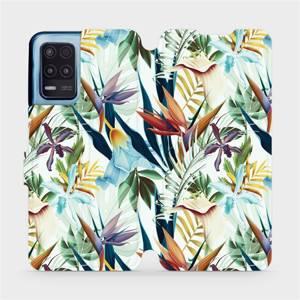 Flip pouzdro Mobiwear na mobil Realme 8 5G - M071P Flóra