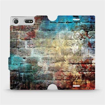 Flipové pouzdro Mobiwear na mobil Sony Xperia XZ1 Compact - V061P Zeď