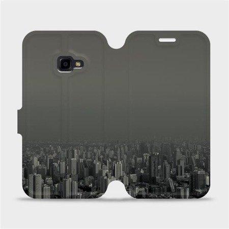 Flipové pouzdro Mobiwear na mobil Samsung Xcover 4 - V063P Město v šedém hávu