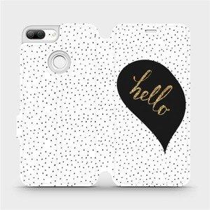 Flipové pouzdro Mobiwear na mobil Honor 9 Lite - M013P Golden hello
