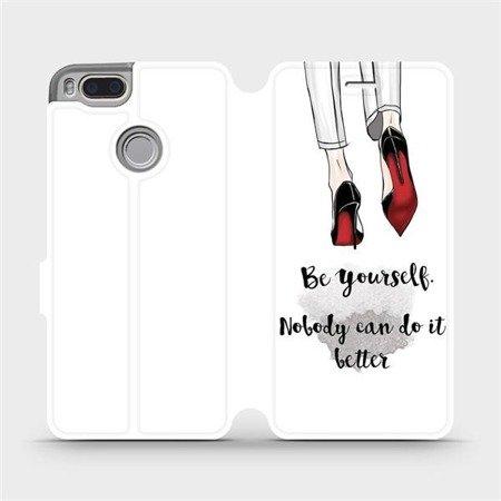 Flipové pouzdro Mobiwear na mobil Xiaomi Mi A1 - M046P Be yourself
