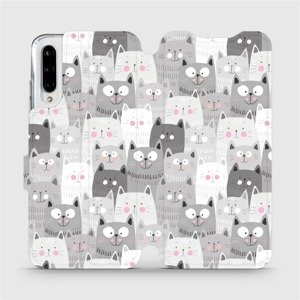 Flipové pouzdro Mobiwear na mobil Xiaomi Mi A3 - M099P Kočičky
