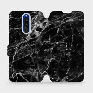 Flipové pouzdro Mobiwear na mobil Xiaomi Redmi 8 - V056P Černý mramor