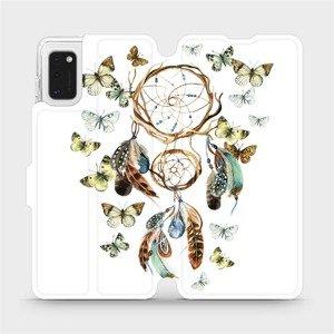 Flipové pouzdro Mobiwear na mobil Samsung Galaxy A41 - M001P Lapač a motýlci