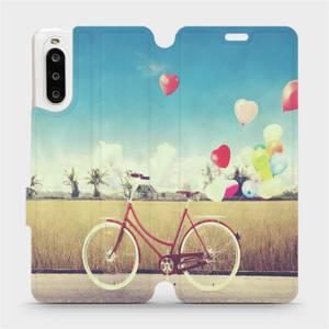 Flipové pouzdro Mobiwear na mobil Sony Xperia 10 II - M133P Kolo a balónky