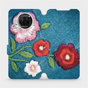 Flipové pouzdro Mobiwear na mobil Xiaomi MI 10T Lite - MD05P Džínové květy
