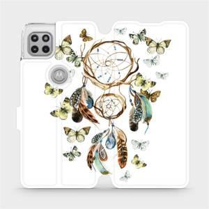 Flipové pouzdro Mobiwear na mobil Motorola Moto G 5G - M001P Lapač a motýlci
