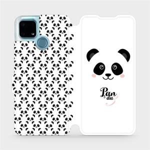 Flip pouzdro Mobiwear na mobil Realme 7i - M030P Panda Amálka