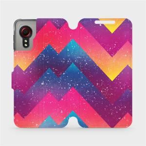 Flipové pouzdro Mobiwear na mobil Samsung Galaxy Xcover 5 - V110S Barevné klikyháky