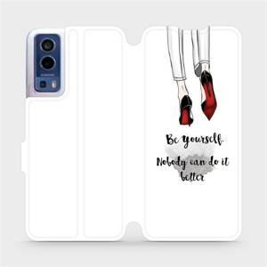 Flip pouzdro Mobiwear na mobil Vivo Y72 5G / Vivo Y52 5G - M046P Be yourself