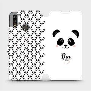 Flipové pouzdro Mobiwear na mobil Huawei P Smart 2019 - M030P Panda Amálka