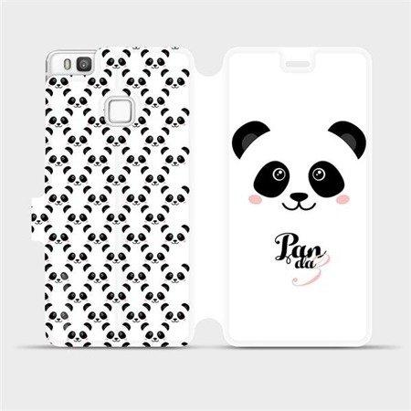 Flipové pouzdro Mobiwear na mobil Huawei P9 Lite - M030P Panda Amálka
