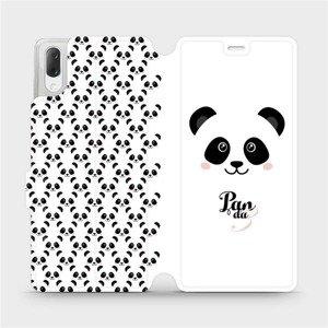 Flipové pouzdro Mobiwear na mobil Sony Xperia L3 - M030P Panda Amálka