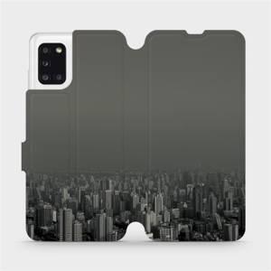 Flipové pouzdro Mobiwear na mobil Samsung Galaxy A31 - V063P Město v šedém hávu