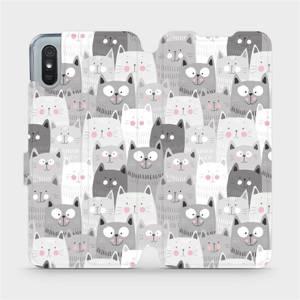 Flipové pouzdro Mobiwear na mobil Xiaomi Redmi 9A - M099P Kočičky