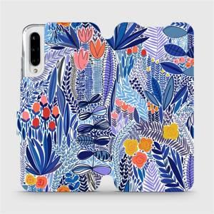 Flip pouzdro Mobiwear na mobil Xiaomi Mi A3 - MP03P Modrá květena