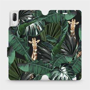 Flip pouzdro Mobiwear na mobil Sony Xperia L3 - VP06P Žirafky