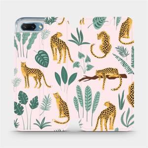 Flip pouzdro Mobiwear na mobil Honor 10 - MP07S Leopardi