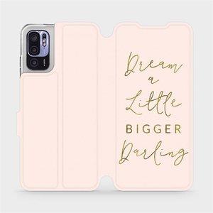 Flip pouzdro Mobiwear na mobil Xiaomi Redmi Note 10 5G - M014S Dream a little