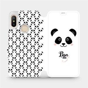 Flipové pouzdro Mobiwear na mobil Xiaomi Mi A2 Lite - M030P Panda Amálka