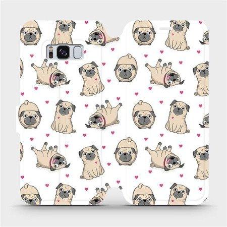 Flipové pouzdro Mobiwear na mobil Samsung Galaxy S8 - M097P Mopsíci
