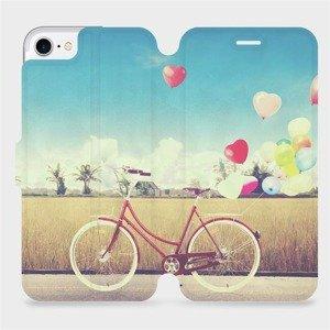 Flipové pouzdro Mobiwear na mobil Apple iPhone SE 2020 - M133P Kolo a balónky