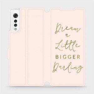 Flipové pouzdro Mobiwear na mobil LG Velvet - M014S Dream a little