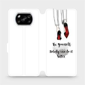 Flipové pouzdro Mobiwear na mobil Xiaomi POCO X3 NFC - M046P Be yourself