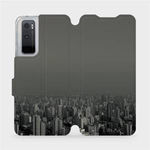 Flipové pouzdro Mobiwear na mobil Vivo Y70 - V063P Město v šedém hávu