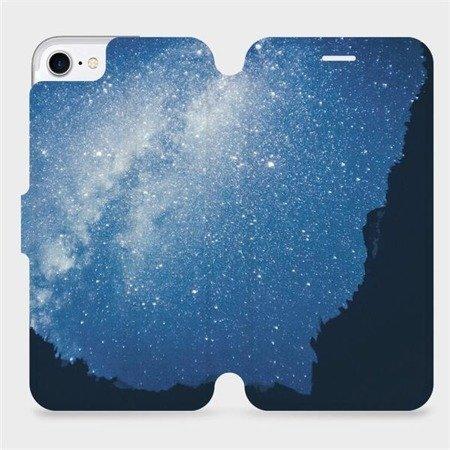 Flipové pouzdro Mobiwear na mobil Apple iPhone 8 - M146P Galaxie