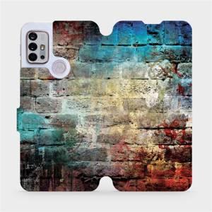 Flipové pouzdro Mobiwear na mobil Motorola Moto G10 - V061P Zeď