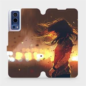 Flip pouzdro Mobiwear na mobil Vivo Y72 5G / Vivo Y52 5G - MA02S Tetovaná dívka