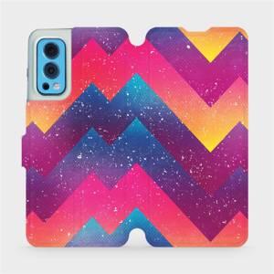 Flip pouzdro Mobiwear na mobil OnePlus Nord 2 5G - V110S Barevné klikyháky