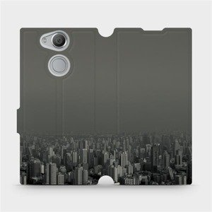 Flipové pouzdro Mobiwear na mobil Sony Xperia XA2 - V063P Město v šedém hávu