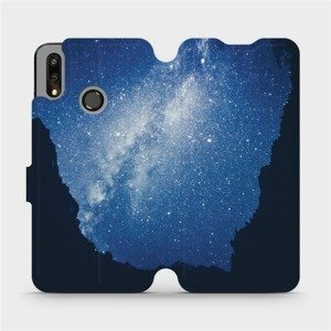 Flipové pouzdro Mobiwear na mobil Huawei P Smart 2019 - M146P Galaxie