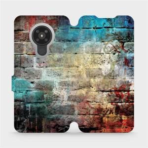 Flipové pouzdro Mobiwear na mobil Nokia 5.3 - V061P Zeď