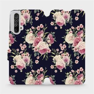 Flipové pouzdro Mobiwear na mobil Realme X3 SuperZoom - V068P Růžičky