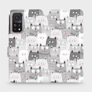 Flipové pouzdro Mobiwear na mobil Xiaomi MI 10T Pro - M099P Kočičky