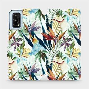 Flipové pouzdro Mobiwear na mobil Realme 7 Pro - M071P Flóra