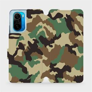 Flipové pouzdro Mobiwear na mobil Xiaomi Mi 11i / Xiaomi Poco F3 - V111P Maskáče