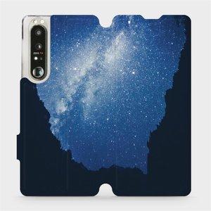 Flip pouzdro Mobiwear na mobil Sony Xperia 1 III - M146P Galaxie