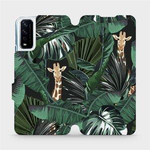 Flip pouzdro Mobiwear na mobil Vivo Y11S - VP06P Žirafky