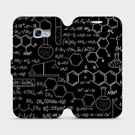 Flipové pouzdro Mobiwear na mobil Samsung Galaxy A3 2017 - V060P Vzorečky