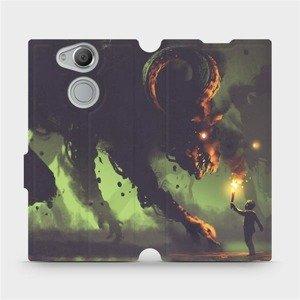 Flipové pouzdro Mobiwear na mobil Sony Xperia XA2 - VA08P Příšera a kluk s pochodní